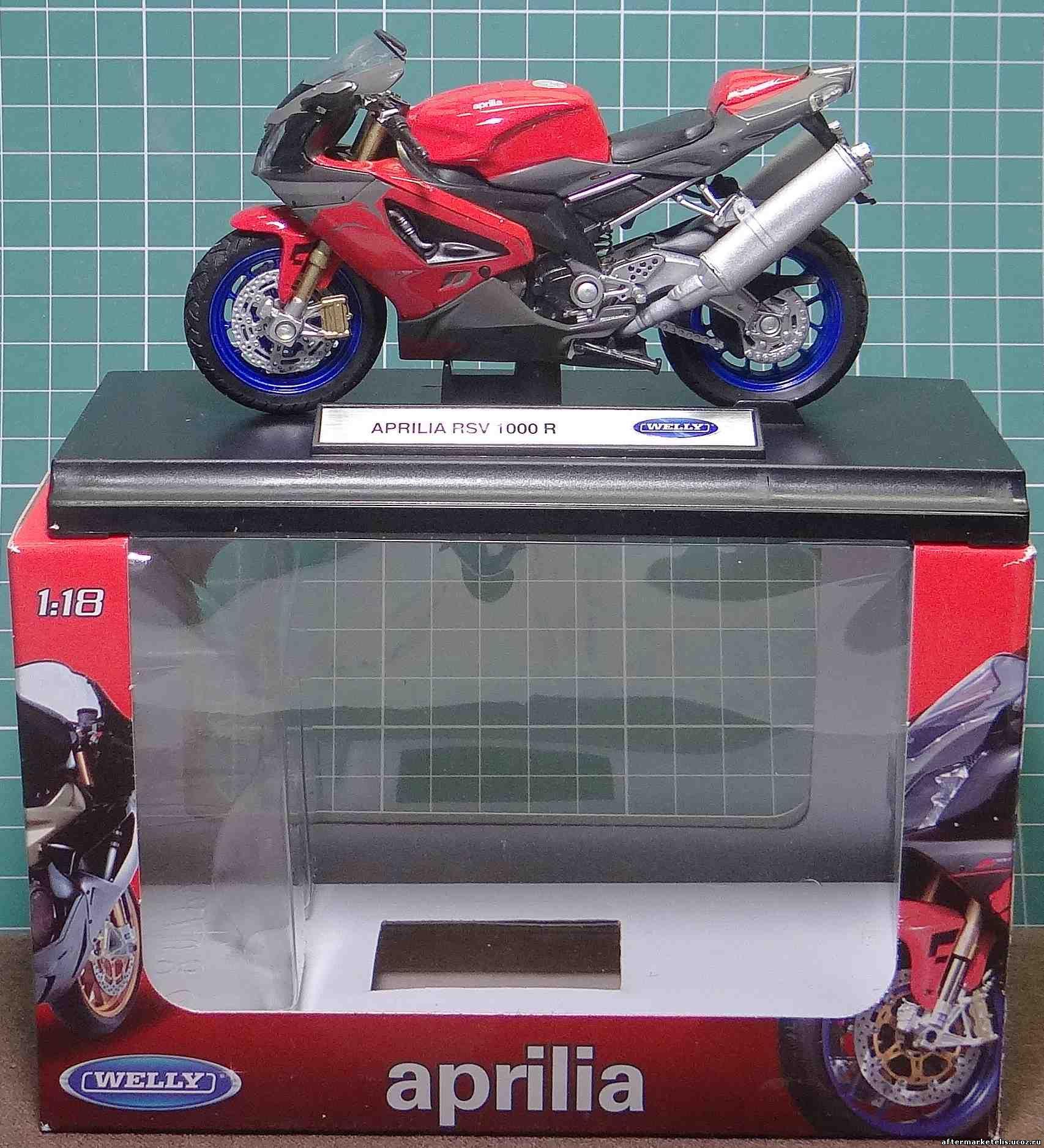 Aprilia RSV 1000 R Welly