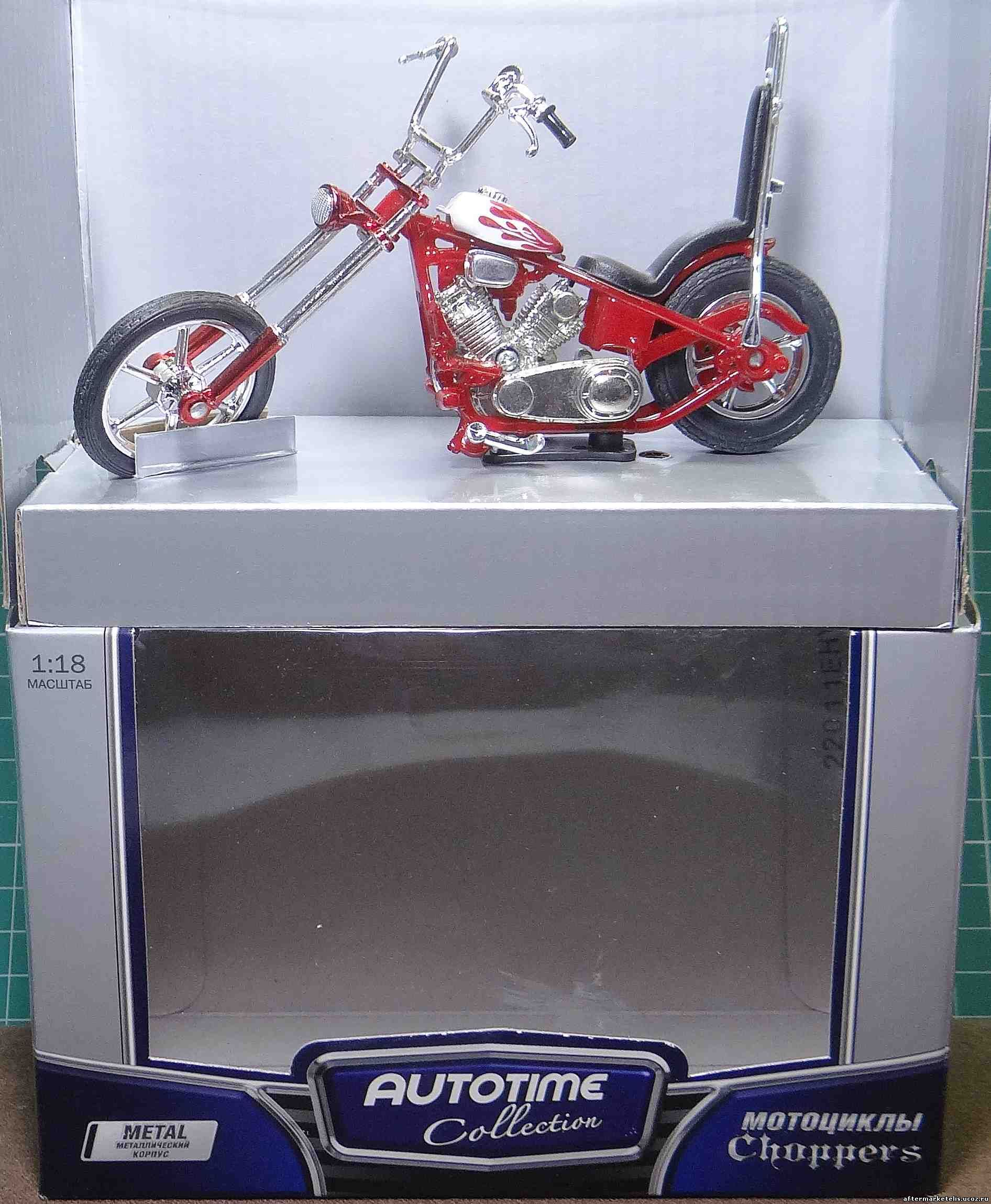 Iron Chopper Classic Red MotorMax