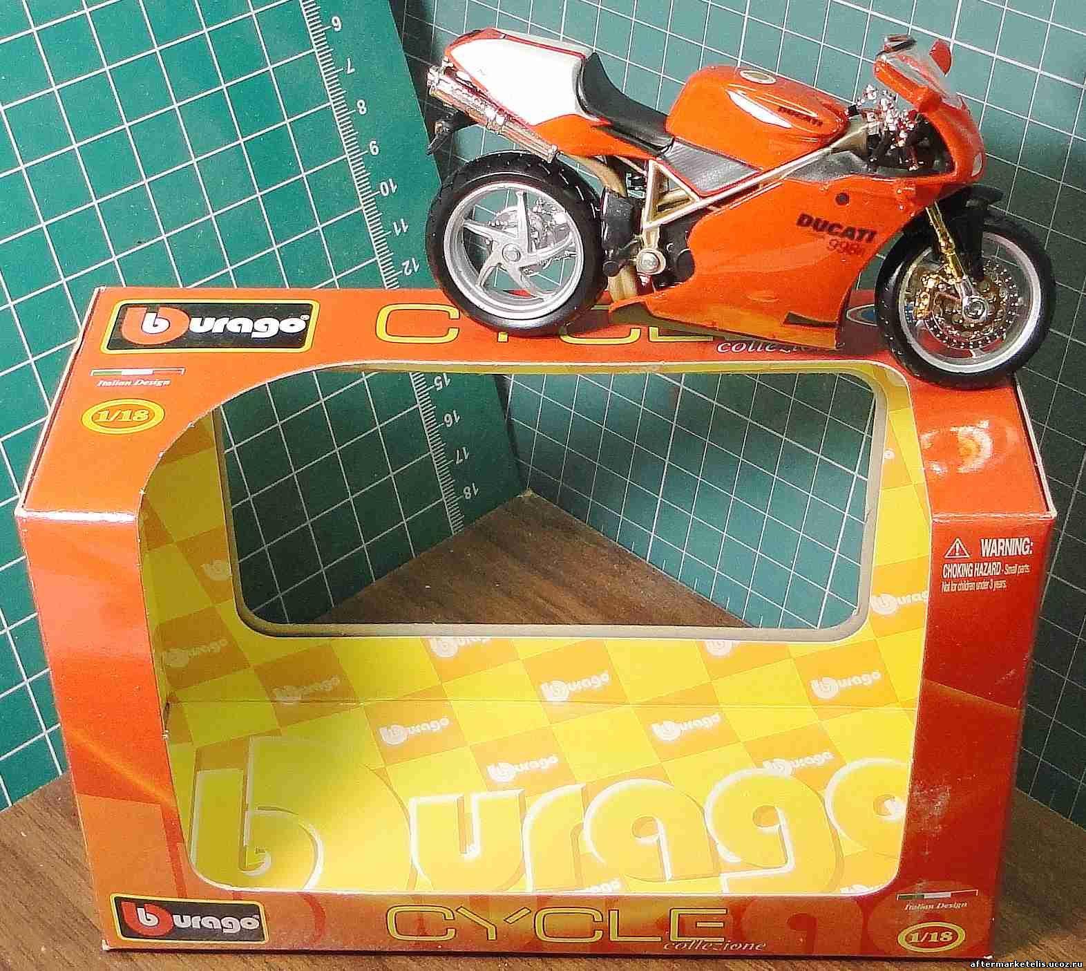Ducati 998 R Bburago