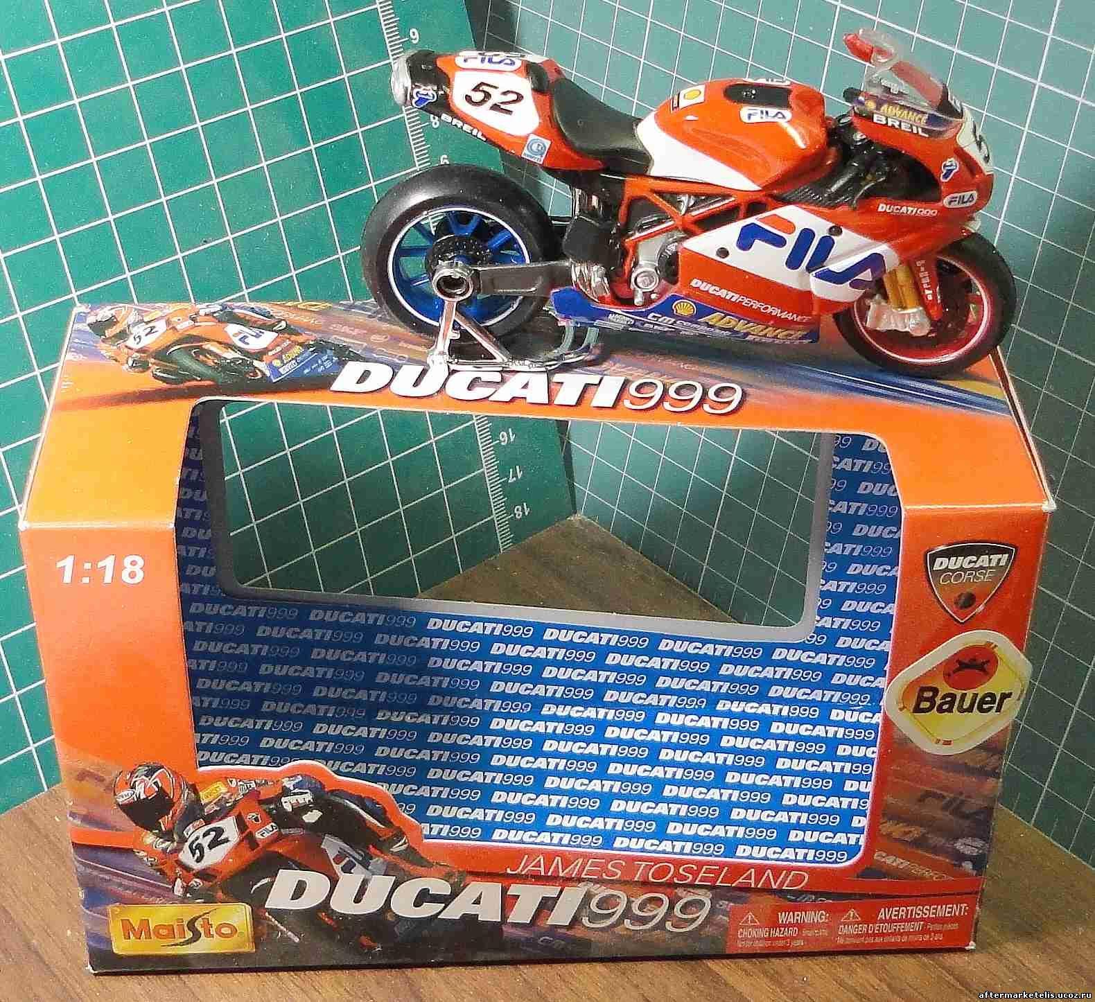 Ducati 999 James Toseland Maisto