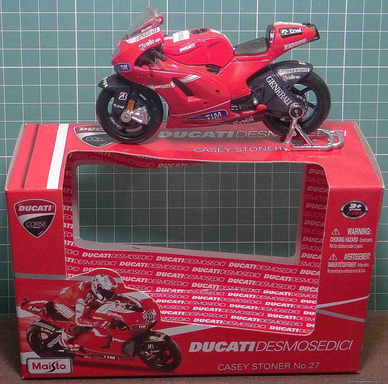 Ducati Desmosedici Casey Stoner №27 Maisto