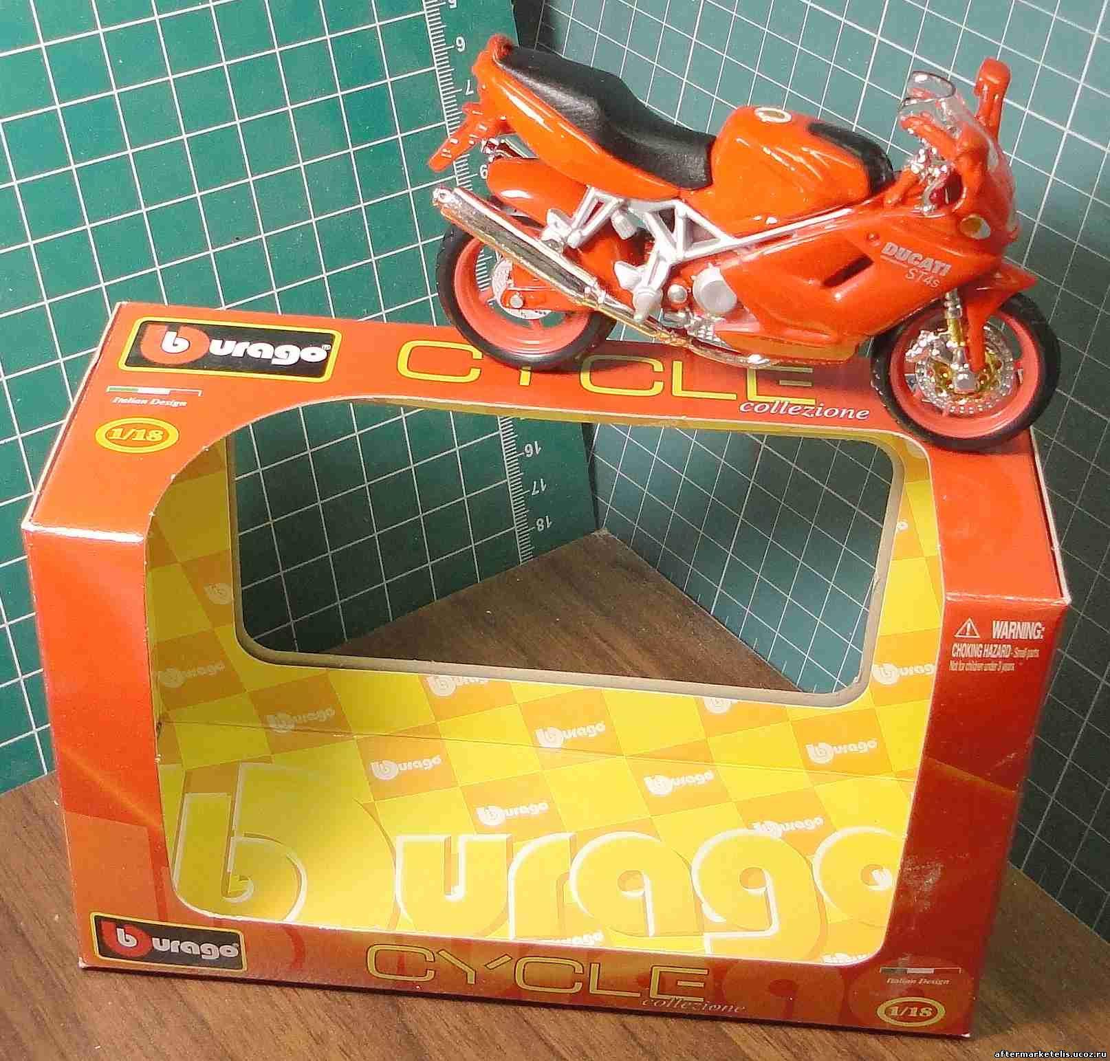 Ducati ST 4 s Bburago