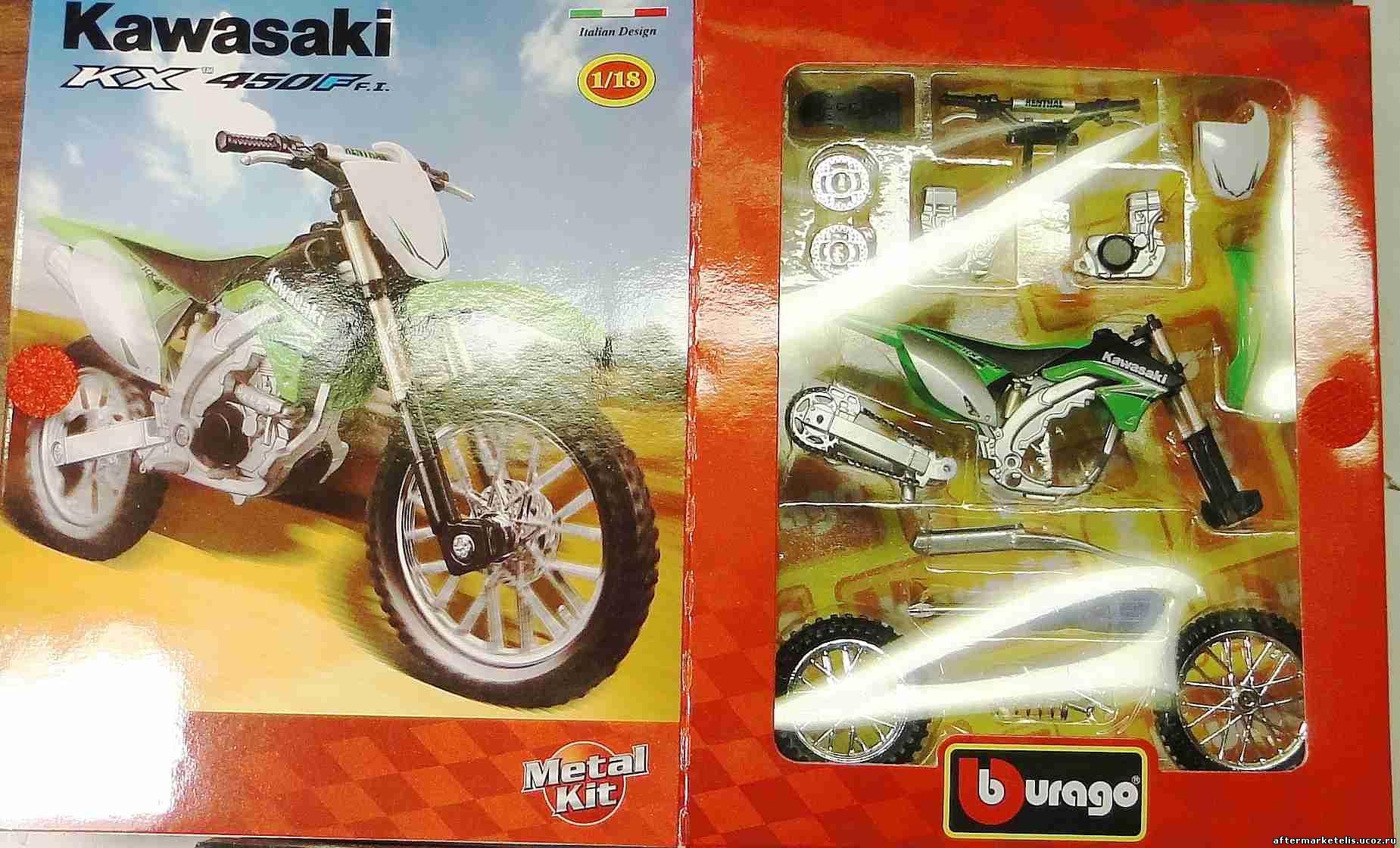 Kawasaki KX 450 F Bburago-kit