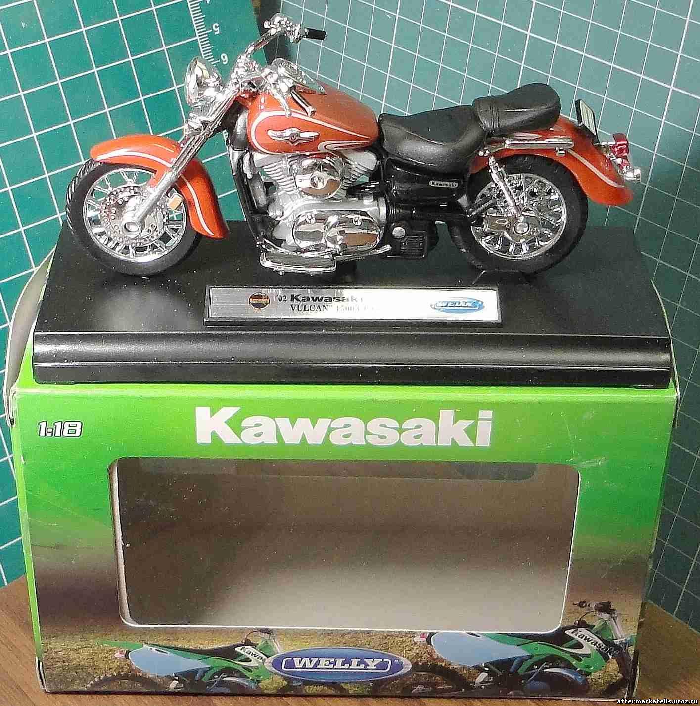 Kawasaki Vulcan 1500 Classic 2002 Welly