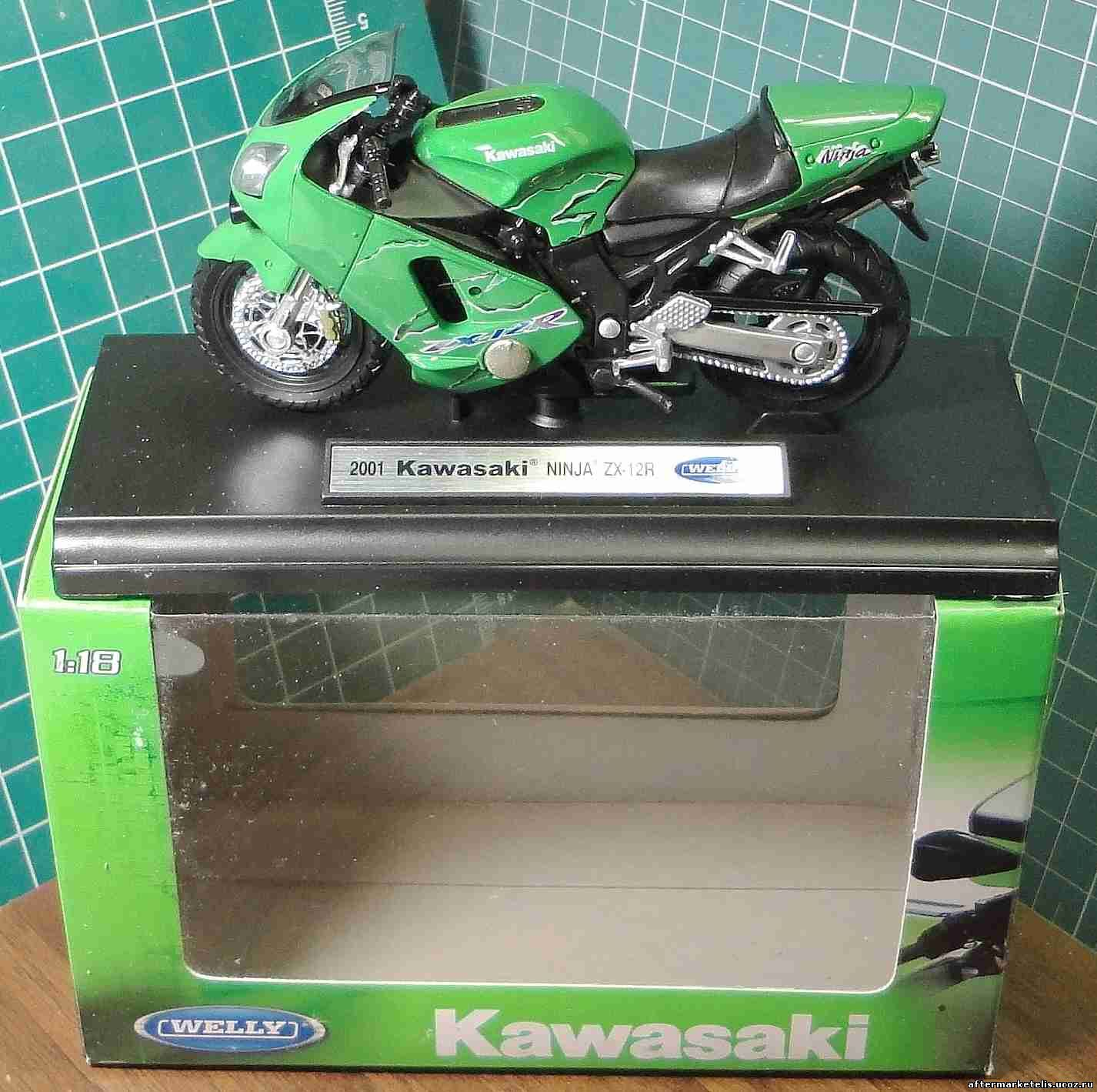 Kawasaki ZX 12 R Ninja 2001 Welly