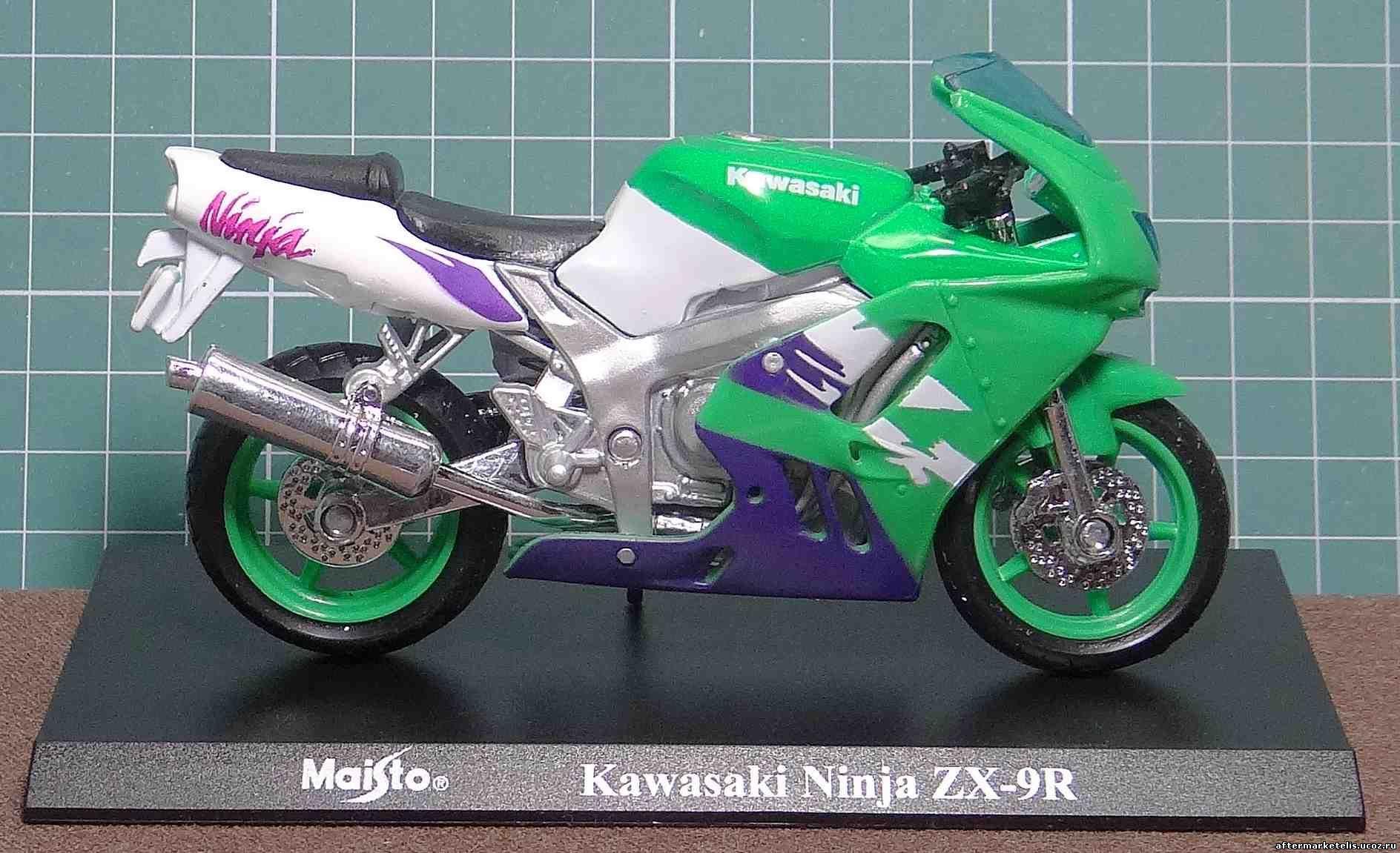 Kawasaki ZX 9 R Ninja Maisto