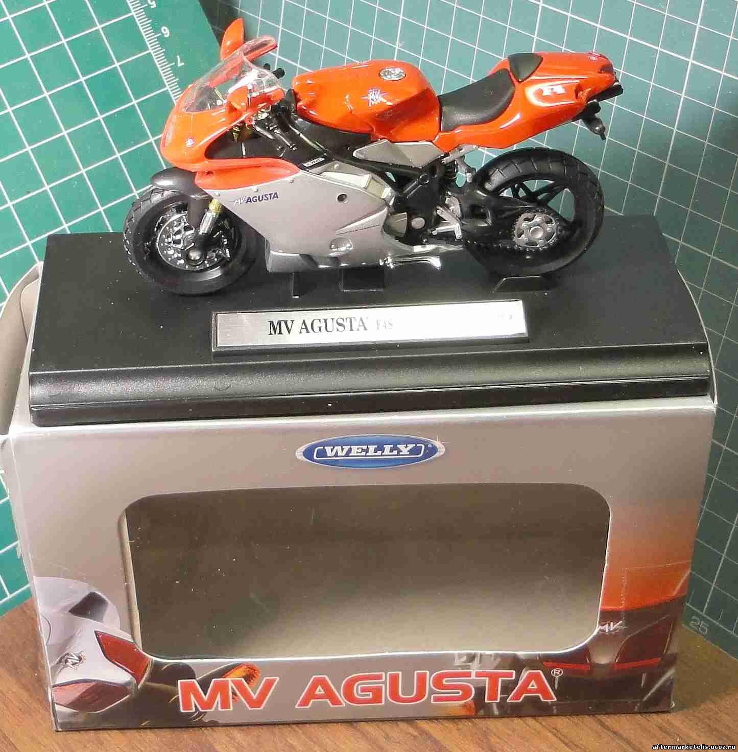 MV Agusta F4S Welly