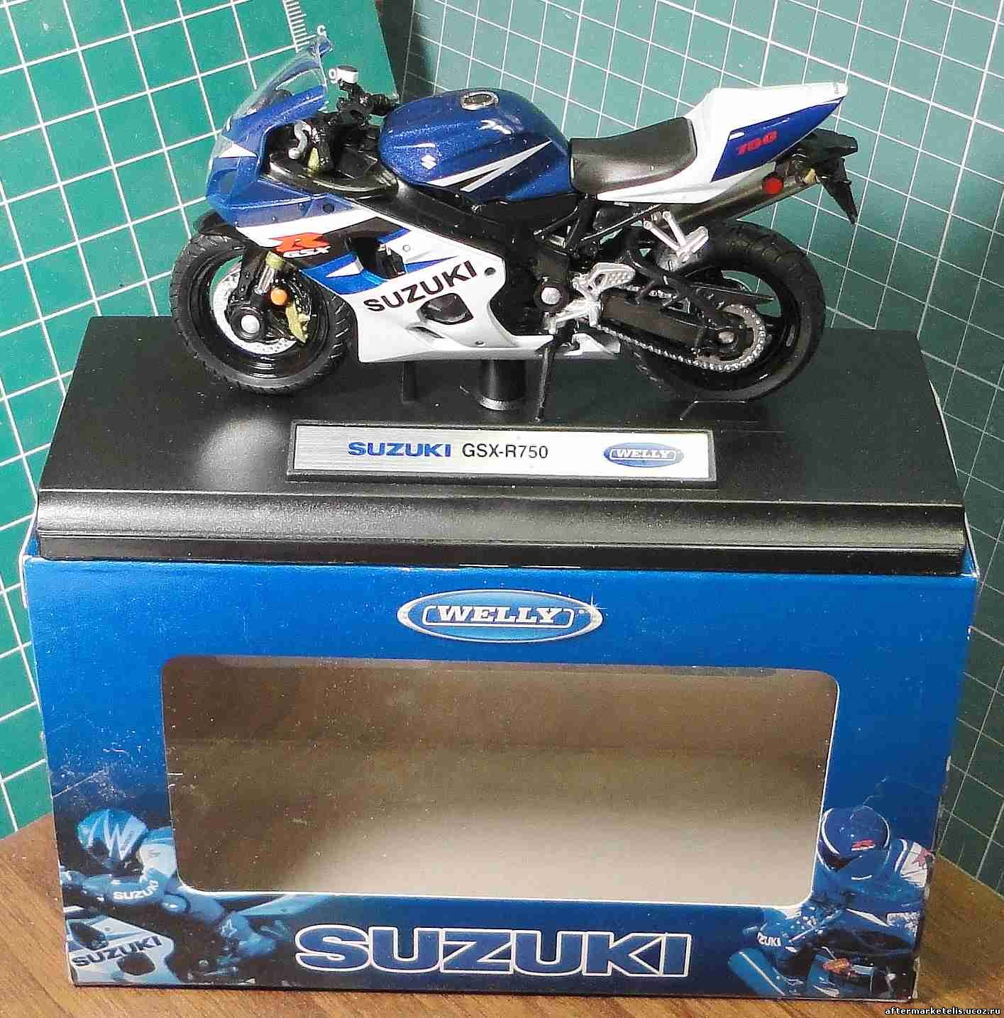 Suzuki GSX R 750 Welly