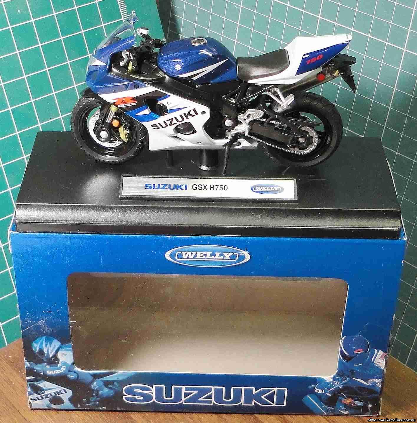 Suzuki GSX R 750 Welly