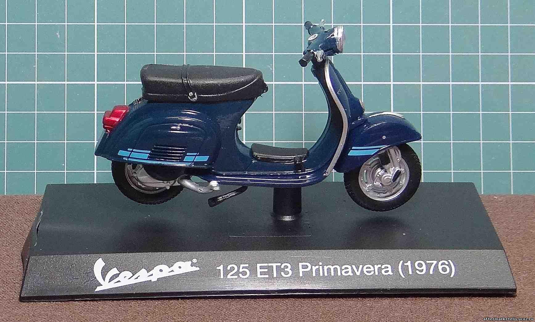 Vespa 125 ET3 Primavera 1976 Maisto