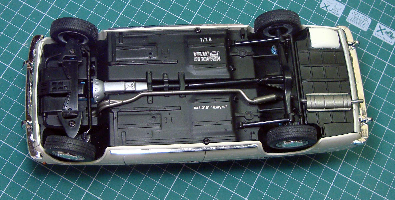 ScaleMad - окончание обзора модели ВАЗ-2101 Ваз 2101 Оригинал